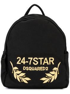 рюкзак 24-7 STAR с логотипом Dsquared2