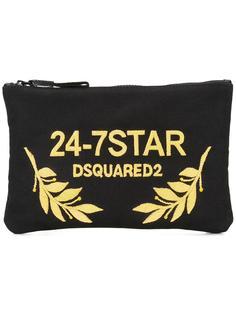 клатч 24-7 STAR Dsquared2