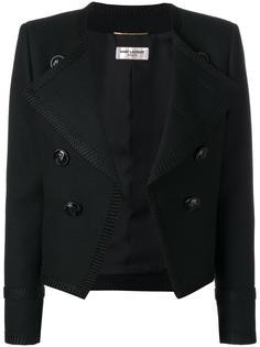 укороченный пиджак Spencer  Saint Laurent