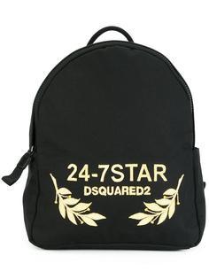 рюкзак с логотипом 24-7 STAR Dsquared2