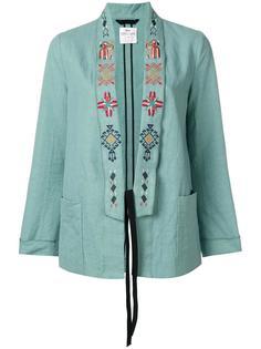 пиджак с вышивкой на лацканах Forte Forte