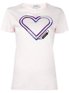 футболка с логотипом в форме сердца Carven
