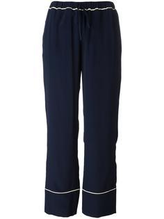 свободные брюки прямого кроя Marni