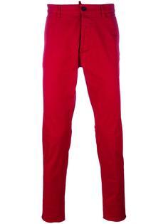 узкие брюки-чинос Dsquared2