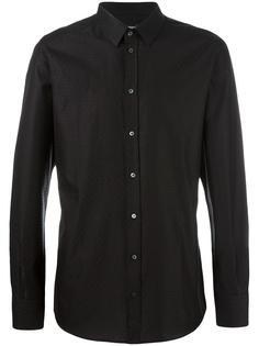 рубашка с ромбовидным узором Dolce & Gabbana