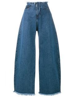 широкие джинсы Marquesalmeida