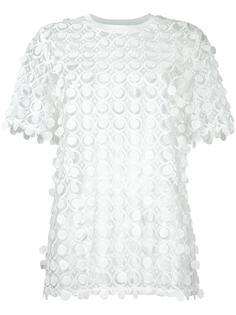 полупрозрачная блузка Carven