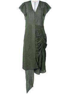 платье асимметричного кроя   Marni