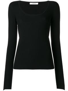 трикотажная блузка с расклешенными рукавами Dorothee Schumacher