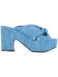 джинсовые сандалии Esther Robert Clergerie