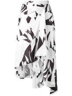 юбка с узором Mm6 Maison Margiela