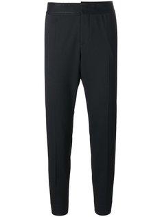 брюки с вышивкой на поясе  Dsquared2