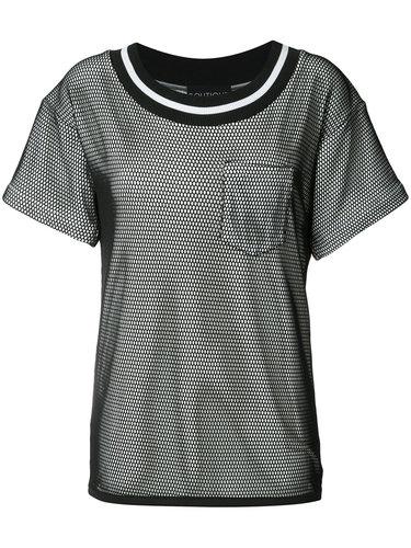 многослойное мини-платье с прозрачной деталью Boutique Moschino