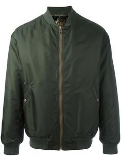 классическая куртка бомбер с мехом койота Mr & Mrs Italy