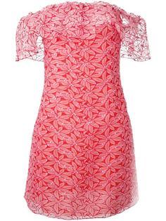 короткое платье без бретелек Giamba
