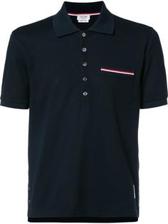футболка с короткими рукавами и нагрудным карманом Thom Browne
