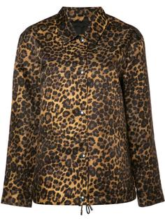 куртка с леопардовым рисунком Alexander Wang