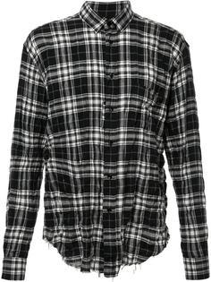 объемная рубашка  Saint Laurent