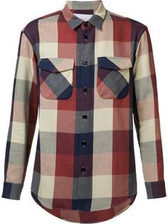 рубашка с карманами с клапанами Julien David