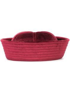 бархатная шляпа Valas