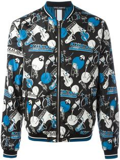 куртка-бомбер с принтом  Dolce & Gabbana