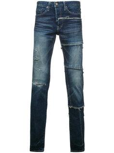 джинсы скинни Maison Mihara Yasuhiro