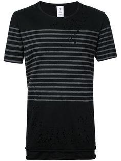 футболка в полоску  Maison Mihara Yasuhiro