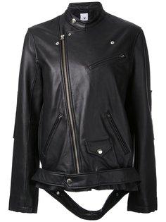 свободная байкерская куртка  Maison Mihara Yasuhiro