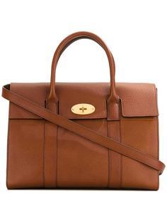 сумка-тоут с откидным клапаном Mulberry