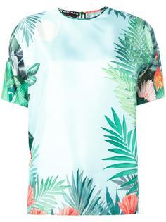 блузка с цветочным принтом Rochas
