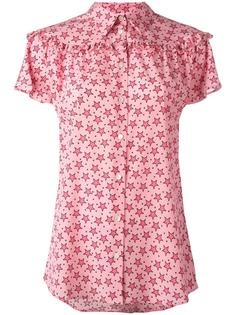 рубашка с принтом узора P.A.R.O.S.H.
