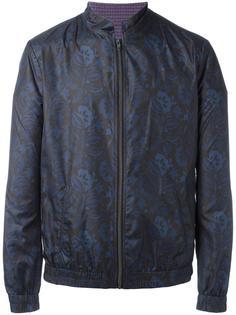 куртка с цветочным принтом Etro