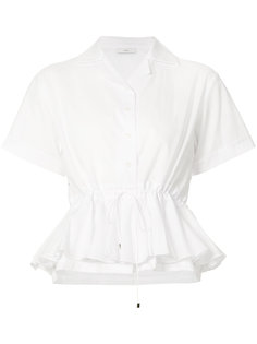 блузка с оборчатой баской Tome
