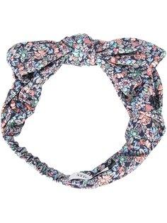 повязка на голову с цветочным узором Maison Michel