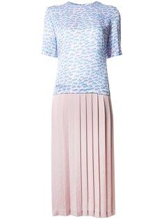 плиссированное платье-юбка Julien David