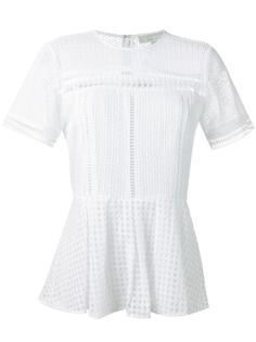 блузка с баской Michael Michael Kors