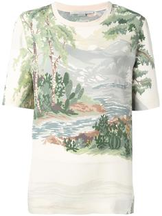 "футболка ""Landscape"" Stella McCartney"