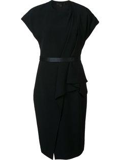 платье с оборками Alexander Wang
