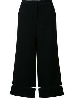 укороченные брюки с прозрачными деталями Alexander Wang