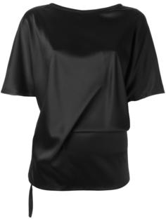 базовая футболка Ann Demeulemeester Blanche