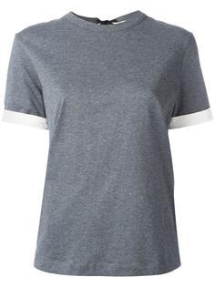 футболка с бантом на спине Marni