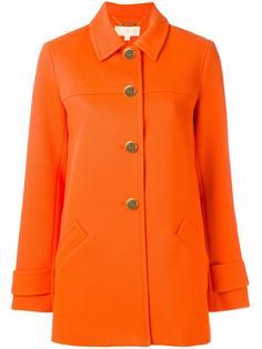 пальто на пуговицах Michael Michael Kors