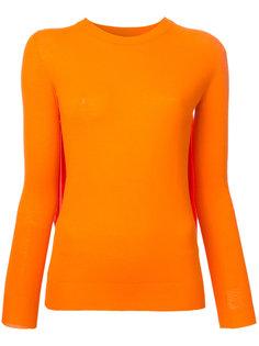 свитер с плиссировкой  Mm6 Maison Margiela