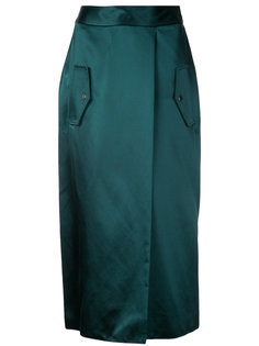 юбка с эффектом запаха Dion Lee