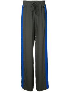 брюки с полосками Balance Dion Lee