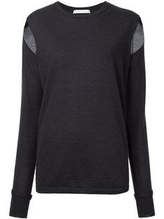 свитер с разрезами на рукавах Dion Lee