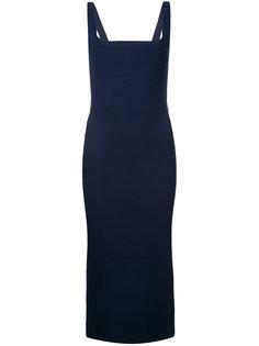 платье с отделкой в рубчик Dion Lee
