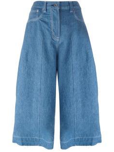 джинсовые кюлоты  Sacai