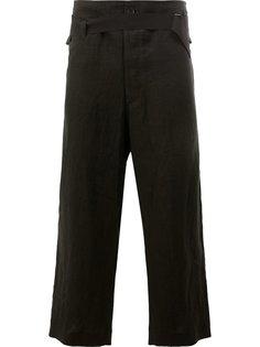 классические брюки с эластичным поясом Ann Demeulemeester