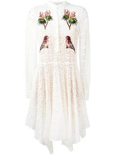кружевное платье с вышивкой Stella McCartney